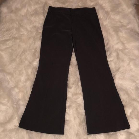 koji yohji Pants - JUNIORS- Gray Wide-leg Dress Pants